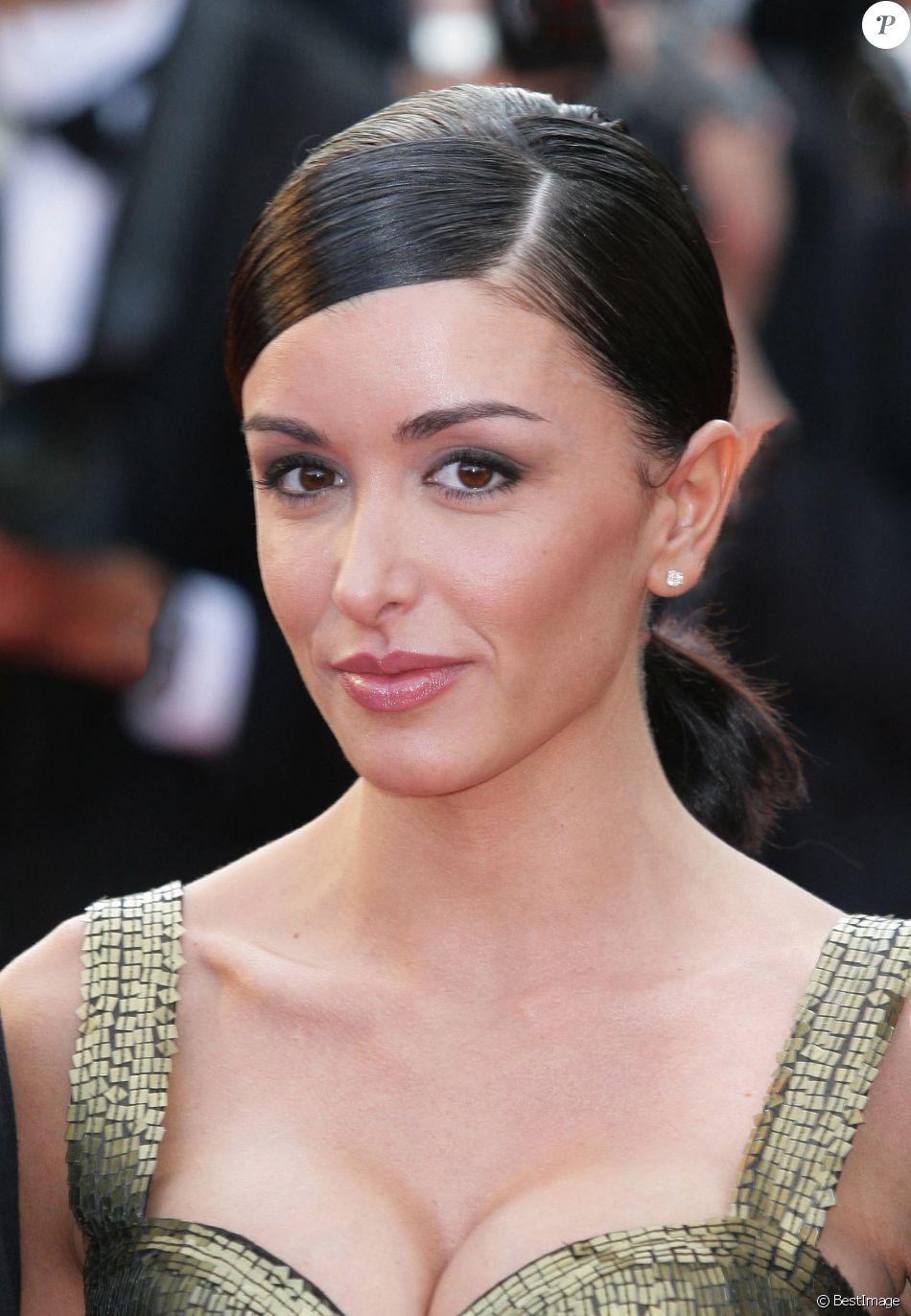 Jenifer Bartoli à Cannes lors du Festival du film le 21