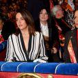 Pauline Ducruet et sa mère la princesse Stéphanie de Monaco durant la soirée d'ouverture du 44eme Festival International du Cirque de Monte-Carlo à Monaco le 16 janvier 2020. Le Festival se déroule sous le chapiteau de Fontvieille du 16 au 26 janvier 2020. © Bruno Bebert/Bestimage