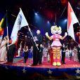 La Parade durant la soirée d'ouverture du 44eme Festival International du Cirque de Monte-Carlo à Monaco le 16 janvier 2020. Le Festival se déroule sous le chapiteau de Fontvieille du 16 au 26 janvier 2020. © Bruno Bebert/Bestimage