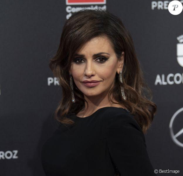 """Monica Cruz au photocall de la 7ème édition des """"Feroz Cinema Awards"""" à Madrid, le 16 janvier 2020."""