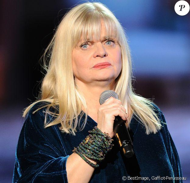 """Exclusif - No Web - Isabelle Nanty - Surprises - Enregistrement de l'émission """"La Chanson secrète 5"""", qui sera diffusée le 11 janvier 2020 sur TF1, à Paris. Le 17 décembre 2019 © Gaffiot-Perusseau / Bestimage"""