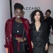 Aïssa Maïga : Ultrachic au défilé Azzaro, avec Vincent Elbaz