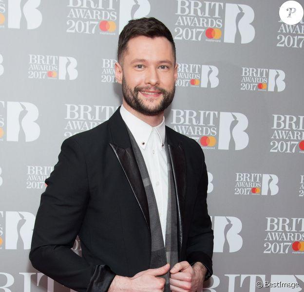 """Calum Scott - Célébrités lors des """"Brit Awards 2017"""" à Londres le 14 janvier 2017"""