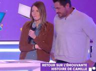 Camille (Les 12 Coups de midi) : La candidate atteinte d'un cancer s'est mariée