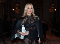 Molly Sims : En transparence à la Fashion Week, face à Malika Ménard