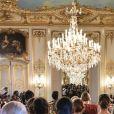 Défilé Imane Ayissi, saison Haute Couture printemps-été 2020, à l'hôtel La Marois. Paris, le 23 janvier 2020.
