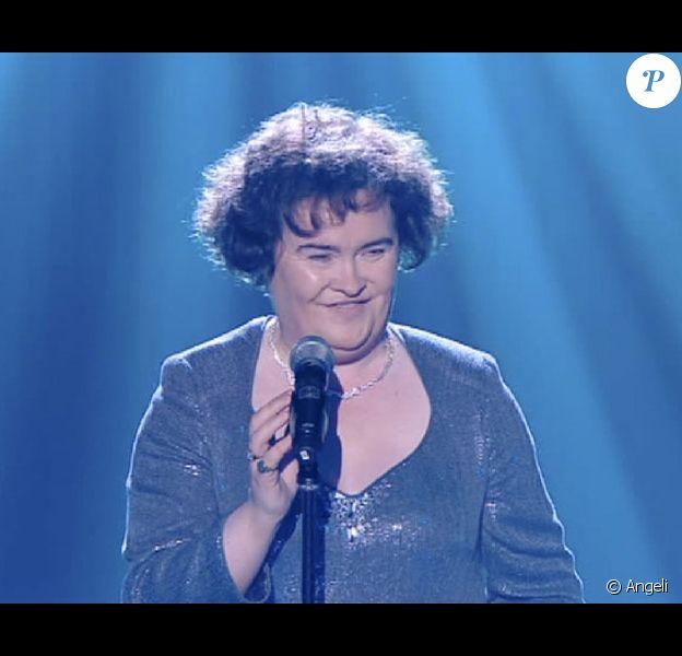 Susan Boyle, finaliste de l'émission de Britain's Got Talent