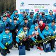 Martin Fourcade (FRA), Fabien Claude (FRA) - Championnats du monde de biathlon 2020 (IBU World Cup Biathlon 2020) - 20km Hommes à Pokljuka le 23 janvier 2020. © Gepa / Panoramic / Bestimage
