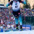 Fabien Claude le 16 janvier 2020 lors de la Coupe du monde de biathlon