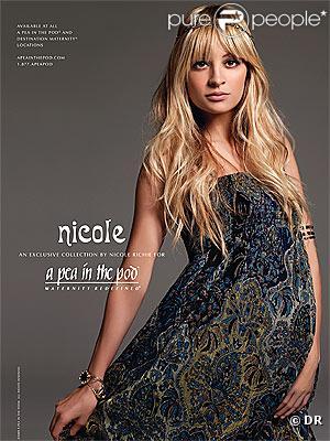 Nicole Richie fabuleuse dans sa ligne de vêtements
