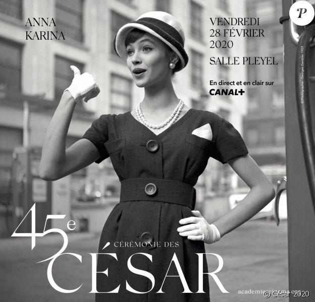 Affiche officielle de la 45e cérémonie des César