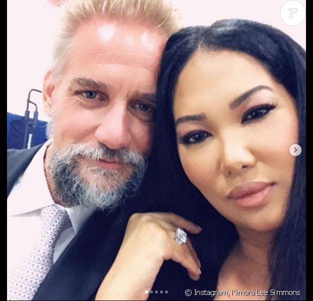 Kimora Lee Simons et son mari Tim Leissner. Juin 2019.