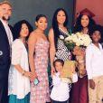 Kimora Lee Simons, son mari Tim Leissner et leurs enfants. Juin 2019.