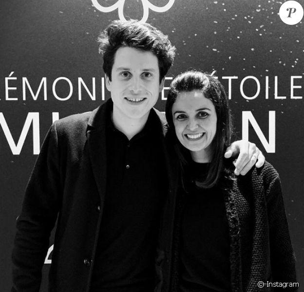 Tabata Mey (Top Chef) et son mari Ludovic sont à la tête du restaurant Les Apothicaires à Lyon. Les parents d'Antoine (3 ans) ont obtenu une étoile au guide Michelin. Janvier 2020.