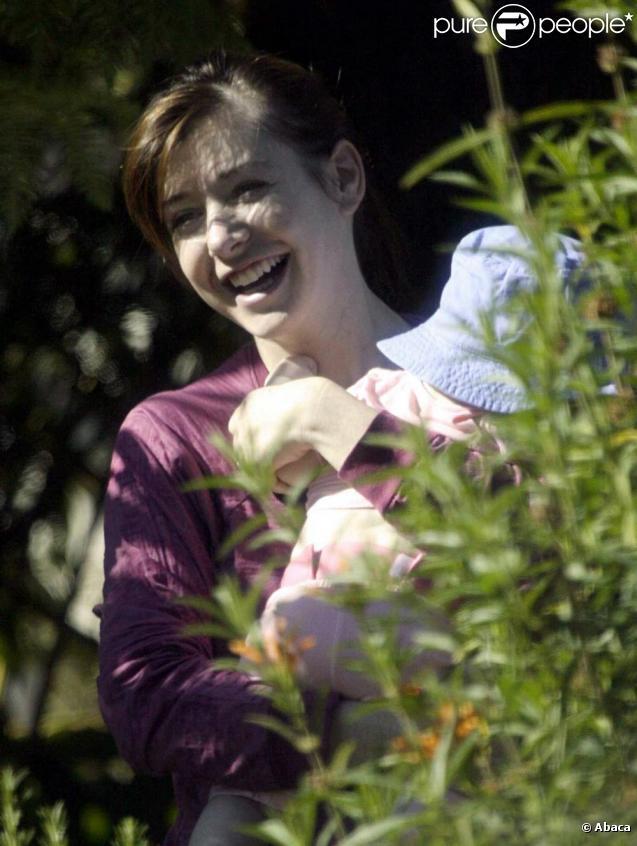 Alyson Hannigan à Los Angeles le 5/08/09