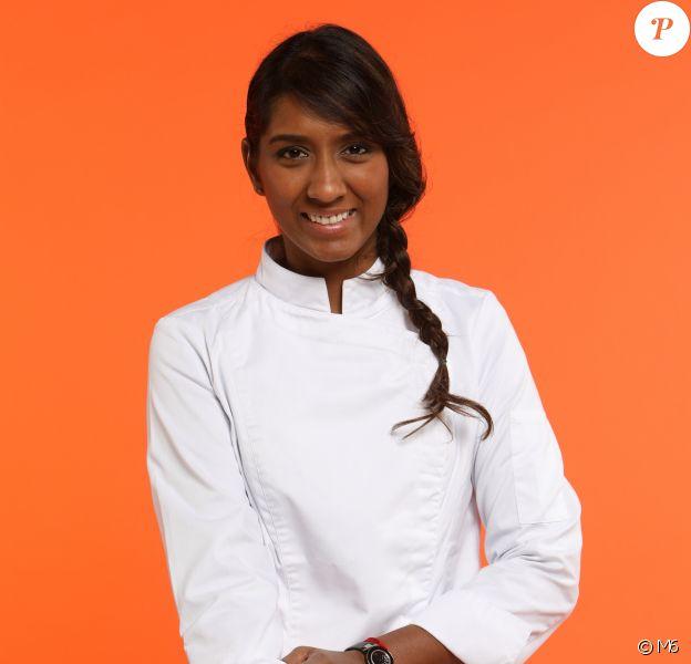 """Kelly Rangama (28 ans) - Candidat de """"Top Chef 2017"""" sur M6."""