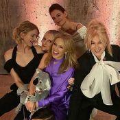 Kylie Minogue : Honorée et bien entourée, avec Katie Holmes et Naomi Watts