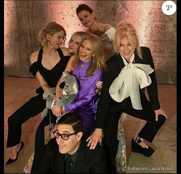 "Naomi Watts, Laura Brown, Katie Holmes, Kylie Minogue et Deborra-Lee Furness assistent aux ""American Australian Association Arts Awards"". New York, le 30 janvier 2020."
