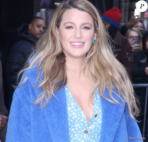 Blake Lively en promotion pour The Rythm Section (La section Rythmique) à New York le 28 janvier 2020.