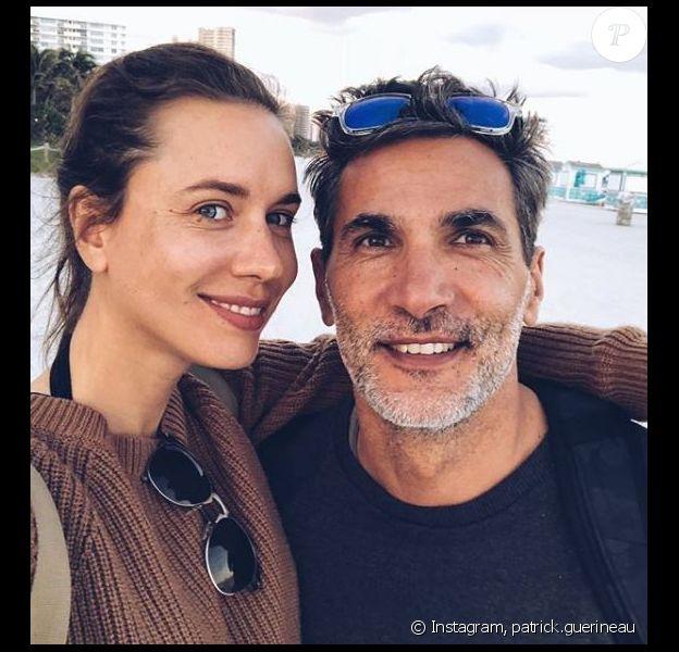 Patrick Guérineau et Lou - Instagram, 1er janvier 2018