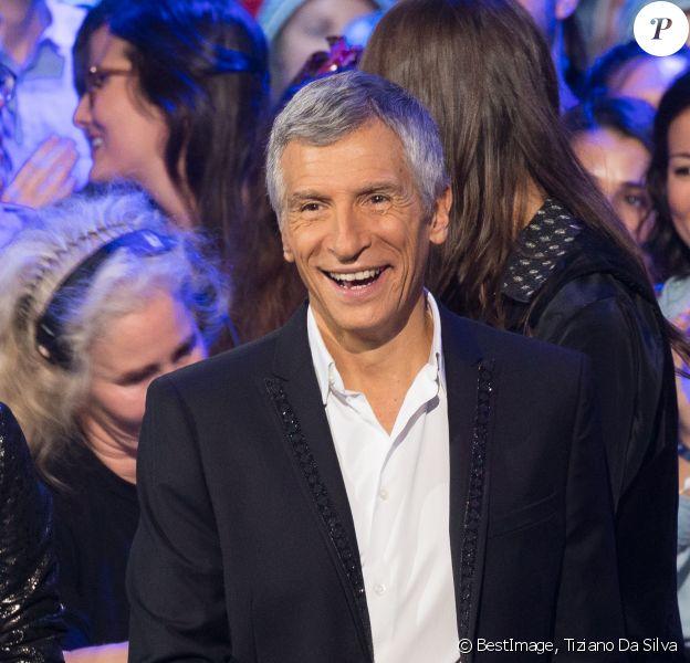 Nagui - Deuxième jour de la 33ème édition du Téléthon au Parc de la Villette à Paris le 7 décembre 2019. © Tiziano Da Silva/Bestimage