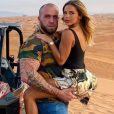 Maddy Burciaga et GMK complices et en couple à Dubaï, le 15 décembre 2019