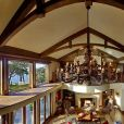 """La maison """"Mille Fleurs"""" qu'occupent le prince Harry, Meghan Markle et leur fils Archie sur l'île de Vancouver, au Canada, depuis la fin d'année 2019."""