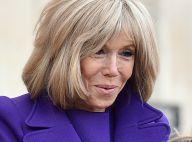 Brigitte Macron, mutine en indigo pour l'épouse du président Argentin