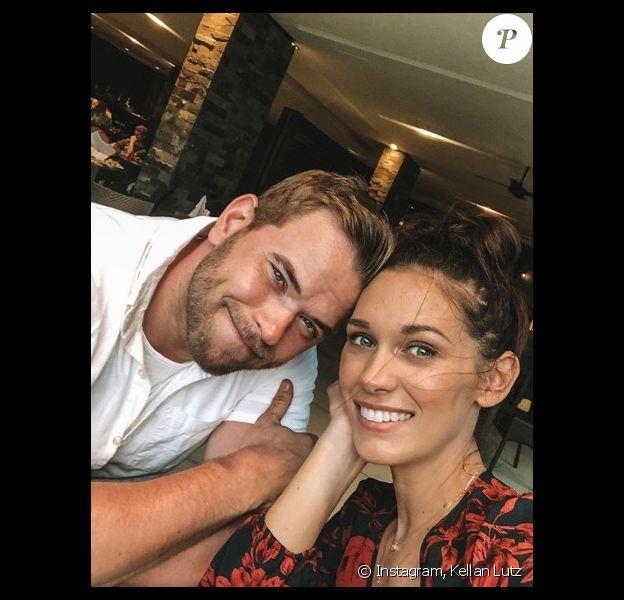 Kellan Lutz et sa femme Brittany Gonzales sur Instagram. Le 25 décembre 2019.