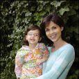 Caroline Barclay et sa fille Clara en 2005