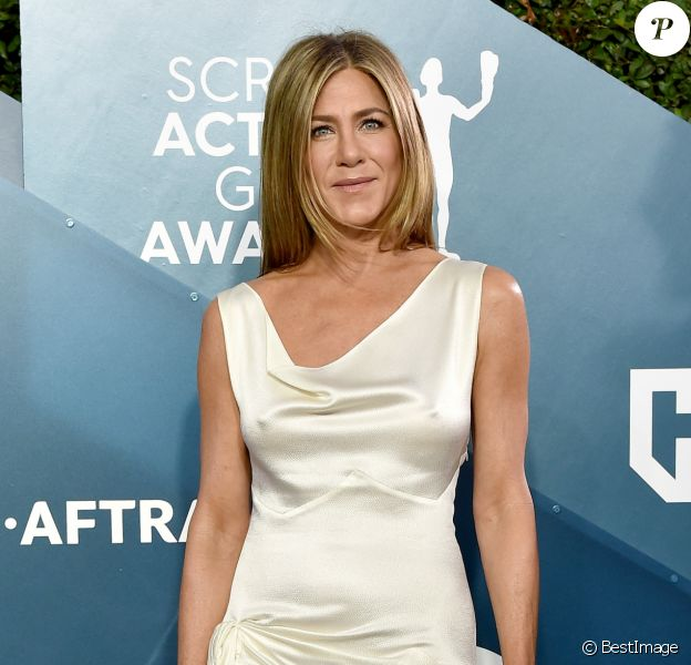 "Jennifer Aniston - 26ème cérémonie annuelle des ""Screen Actors Guild Awards"" (""SAG Awards"") au ""Shrine Auditorium"" à Los Angeles, le 19 janvier 2020."