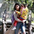 Jenna Dewan et sa fille Everly sortent du parc à Los Feliz Le 17 mars 2018