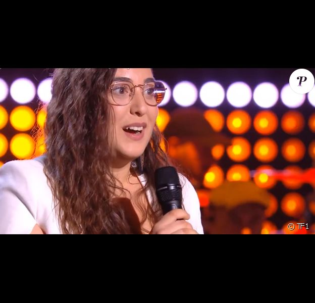 """Laure, talent de """"The Voice 2020"""" lors des auditions à l'aveugle du samedi 15 février 2020 - TF1"""