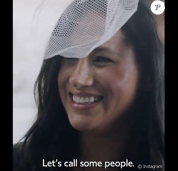 Meghan Markle en interview pour Vogue British, le 14 février 2020 sur Instagram.
