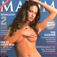 La très belle Eva Laskari en couverture de