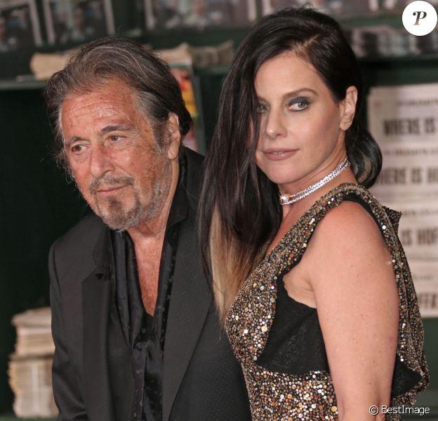 """Al Pacino et Meital Dohan à l'avant-première du film """"The Irishman"""" à Los Angeles le 24 octobre 2019."""