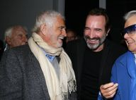 Jean-Paul Belmondo et Jean Dujardin complices : rires et câlins au resto