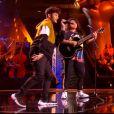 """Ludisou et Nathan - Talents de """"The Voice 2020"""" lors des auditions à l'aveugle de samedi 29 février 2020, TF1"""