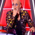 """Pascal Obispo lors des auditions à l'aveugle de """"The Voice 2020"""" samedi 29 février 2020, TF1"""