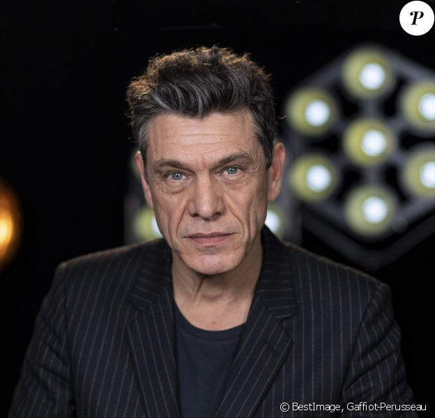 """Exclusif - Marc Lavoine - Backstage de l'enregistrement de l'émission """"La Chanson secrète 4"""", qui a été diffusée le 4 janvier 2020 sur TF1, à Paris. Le 17 décembre 2019 © Gaffiot-Perusseau / Bestimage"""