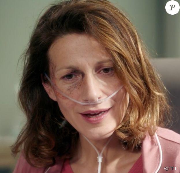"""Caroline Ducey joue Héléna Sargue dans la série """"Demain nous appartient"""", diffusée sur TF1."""