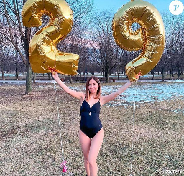 L'influenceuse russe Ekaterina Didenko sur Instagram. Samedi 29 février 2020, trois personnes dont son mari ont trouvé la mort lors de sa fête d'anniversaire, en sautant dans une piscine remplie de glace carbonique.