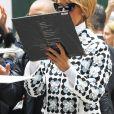 Céline Dion salue ses fans à New York, le 3 mars 2020.