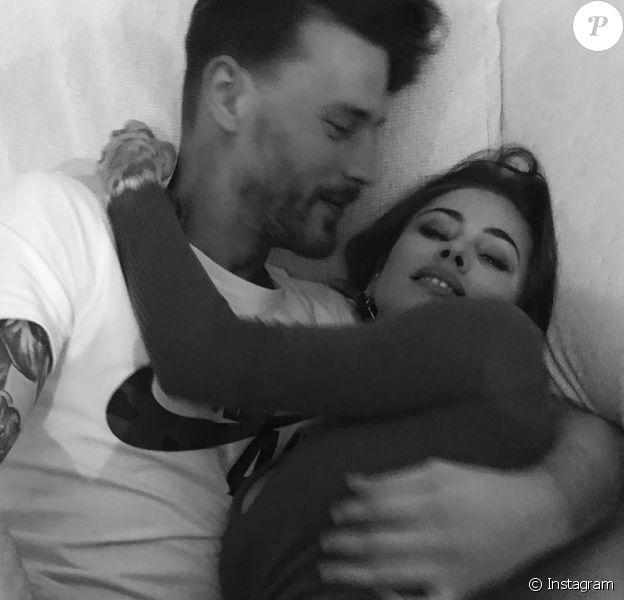 Gaelle Garcia Diaz avec son petit ami Daan, photo Instagram du 2 mars 2019