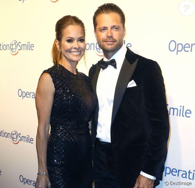 Brooke Burke et David Charvet à la soirée du 14ème Gala annuel Operation Smile à Cipriani 42nd Street à New York, le 12 mai 2016.