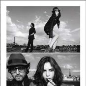 Sean Lennon et sa sublime compagne Charlotte Kemp Muhl, surpris sur les toits de Paris !