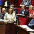 Brune Poirson - Secretaire d Etat aupres du ministre de la transition ecologique et solidaire - Questions au Gouvernement à l'Assemblée Nationale à Paris le 3 décembre 2019.
