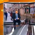 Jean-Pierre Pernaut pris d'une quinte de toux lors du journal de 13h sur TF1 - C'est que de la télé, C8, 11 mars 2020