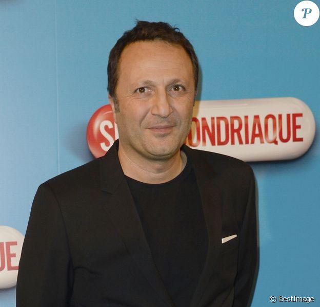 """Arthur (Jacques Essebag) - Avant-première du film """"Supercondriaque"""" au Gaumont Opéra à Paris, le 24 février 2014."""