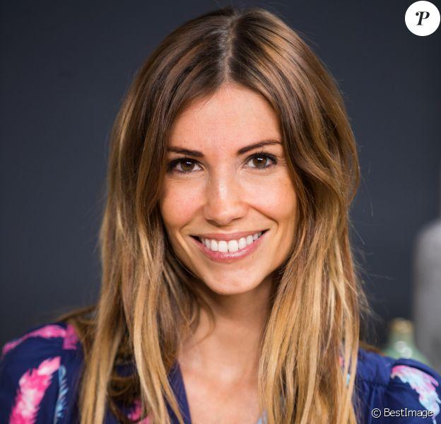 Exclusif - Rendez-vous avec Alexandra Rosenfeld (enceinte) dans les studios de Webedia pour une Interview pour Purepeople à Levallois-Perret le 16 septembre 209.